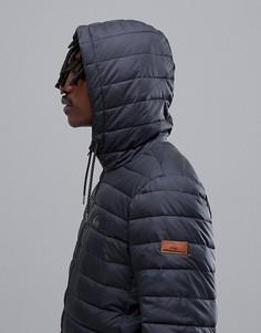 Черная куртка с капюшоном Quiksilver Scaly - Черный