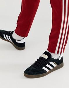 1ae31d76 Черные кроссовки с резиновой подошвой adidas Originals Handball SPZL -  Черный