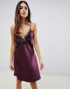 Фиолетовая сорочка Ann Summers Sierra - Фиолетовый