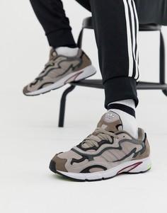 Коричневые кроссовки adidas Originals Temper Run G27920 - Коричневый