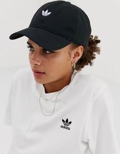 Черная кепка adidas Originals Samstag - Черный