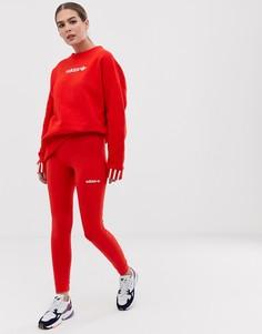 Красные леггинсы adidas Originals Coeeze - Красный
