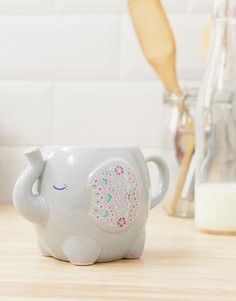 Кружка с дизайном в виде слона Sass & Belle - Мульти