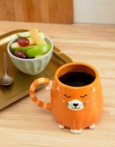 Кружка с дизайном кошка Sass & Belle - Мульти