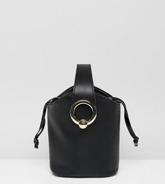 Черная сумка с золотистой фурнитурой ALDO - Черный