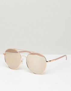 Розовые солнцезащитные очки-авиаторы Aldo - Розовый