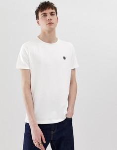 Белая футболка с логотипом Pretty Green - Белый