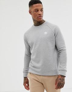 Серый свитшот Adidas Originals Essentials DV1642 - Серый