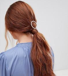Заколка для волос с жемчугом Orelia - Золотой
