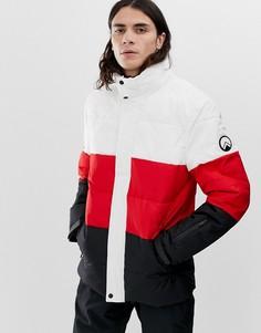 Красная куртка со вставками HIIT - Красный