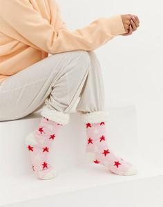 Носки со звездами Brave Soul - Розовый