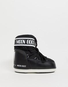 Классические низкие зимние ботинки Moon Boot - Белый