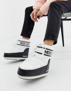 Классические низкие зимние ботинки Moon Boot - Черный