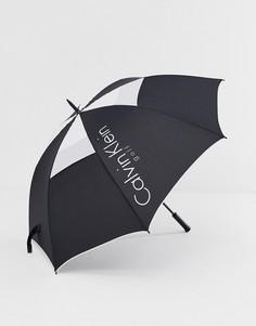 Черный зонт Calvin Klein Golf - Черный