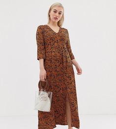 Платье макси с абстрактным принтом Vero Moda Petite - Мульти