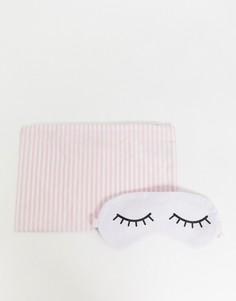 Маска для сна в чехле Hey Peachy - Розовый