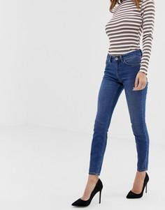 Ярко-синие джинсы скинни с классической талией ASOS DESIGN Lisbon - Синий