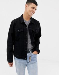 Черная джинсовая куртка Levis Berk - Черный Levis®