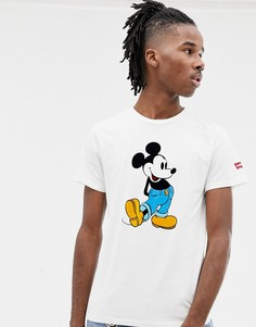 Белая футболка с принтом Микки Мауса Levis - Серый Levis®