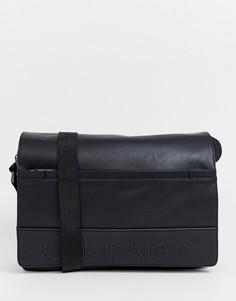 Сумка почтальона Calvin Klein - Черный