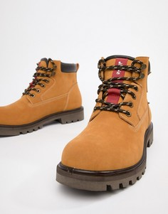 Светло-коричневые кожаные ботинки Levis hodges - Коричневый Levis®