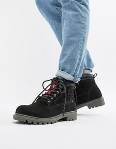 Черные кожаные ботинки Levis hodges - Черный Levis®