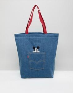 4e42cc0efdd9 Джинсовая сумка с Микки Маусом Levis - Темно-синий Levis®