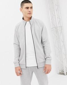Серая спортивная куртка Tom Tailor - Серый