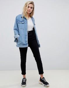Синяя джинсовая куртка ASOS DESIGN - Синий