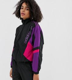 Куртка на молнии adidas Originals - Черный