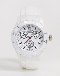 Белые часы с силиконовым ремешком NeonT - Белый