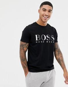 Футболка с логотипом BOSS - Черный