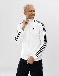 Белая спортивная куртка adidas Originals Beckenbauer - Белый