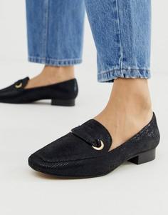 Черная обувь на плоской подошве ASOS DESIGN Mile - Черный