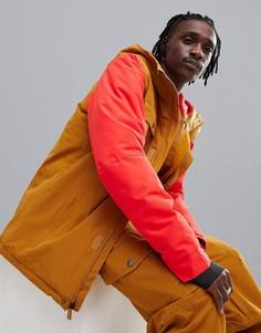 Куртка для катания на сноуборде (коричневый/красный) Quiksilver Mission Solid - Мульти