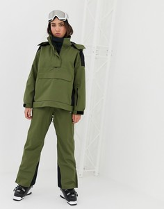 Лыжные брюки с проклееными швами ASOS 4505 - Зеленый