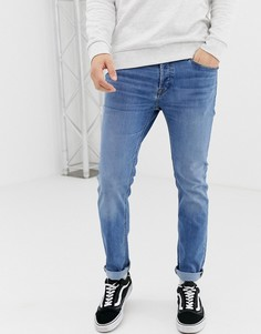 Синие джинсы узкого кроя Jack & Jones - Синий