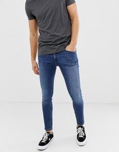Синие джинсы скинни Jack & Jones - Синий