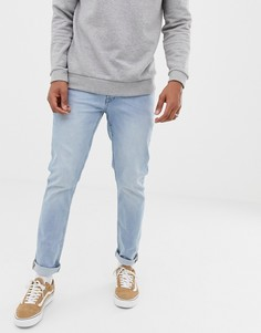 Голубые джинсы скинни Solid - Синий
