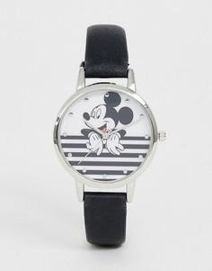 Черно-белые часы с Микки Маусом Disney - Черный