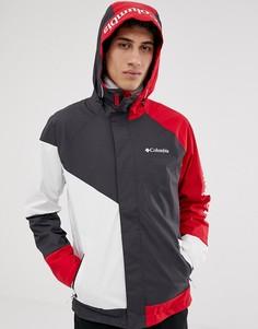 Красно-черная куртка Columbia Windell Park - Красный