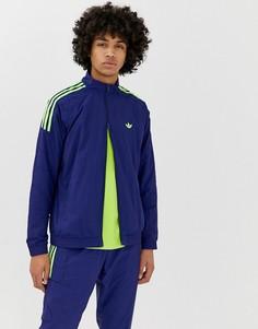 Синяя спортивная куртка adidas Originals Flamestrike - Синий