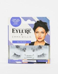 Накладные ресницы Eylure x Emma Willis All The Aces - Черный