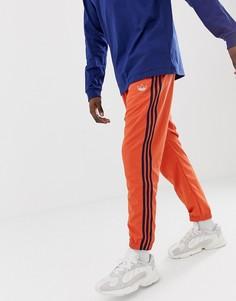 Оранжевые джоггеры с 3 полосками adidas Originals - Оранжевый