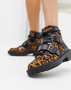 Массивные ботинки с леопардовым принтом RAID Daelyn - Мульти