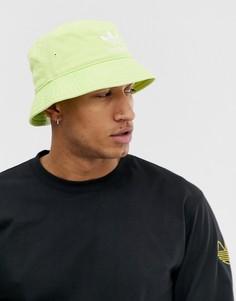 Желтая панама adidas Originals - Желтый