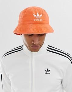Оранжевая панама adidas Originals - Красный