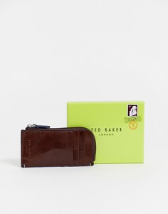 Светло-коричневый бумажник-визитница Ted Baker Chicar - Рыжий