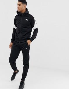 Черный спортивный костюм Puma EVOstripe - Черный