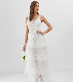 Эксклюзивное свадебное платье Bronx & Banco Antoinette - Белый